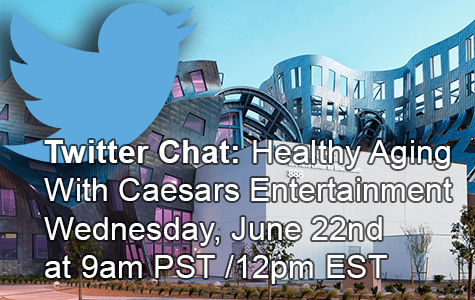 Twitter Chat: #3pHealthyAging with Caesars Entertainment