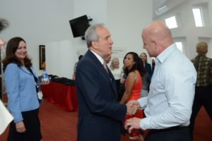 Phillip Agassi and Larry Ruvo
