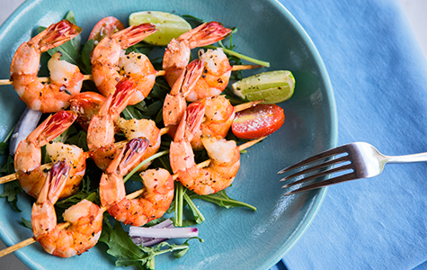 Spicy Summer Shrimp