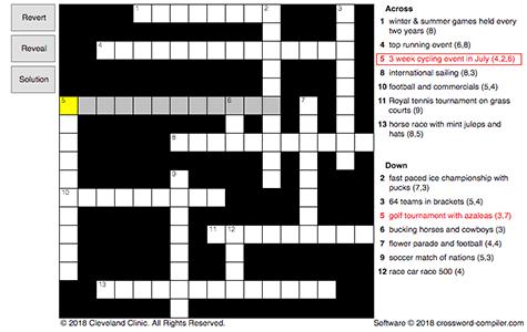 Games We Like To Watch Crossword